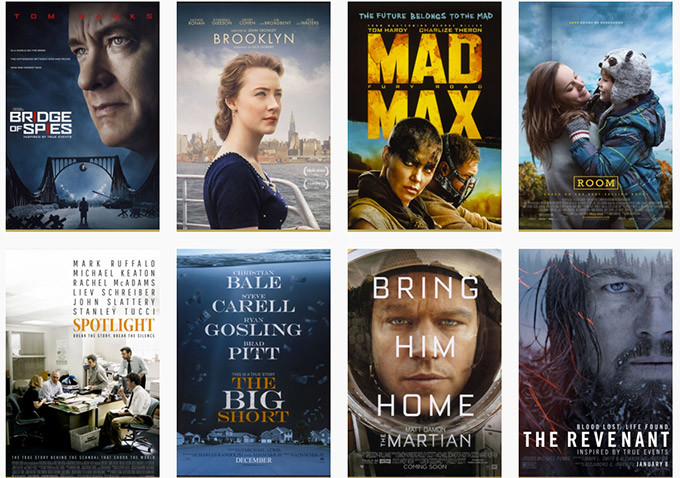 My Top Films of 2015